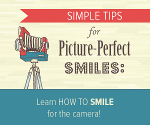 Perfect smiles - Old fashioned camera on tripod