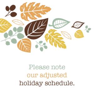 Scottsdale Dentist Holiday Schedule 2015