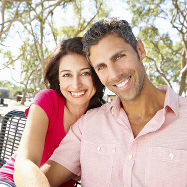 Scottsdale Family Dentistry - couple smiling outside