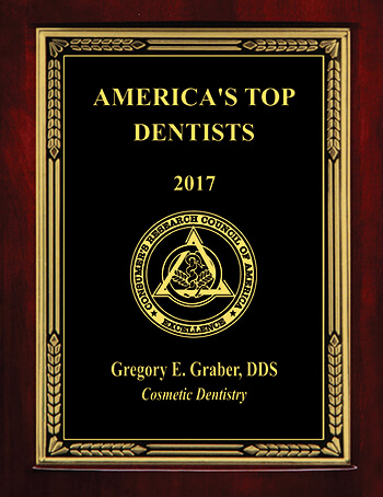 Dr. Graber's America's Top Dentists Award 2017
