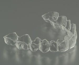 An Invisalign retailer used at the office of Dr. Graber in North Scottsdale, AZ